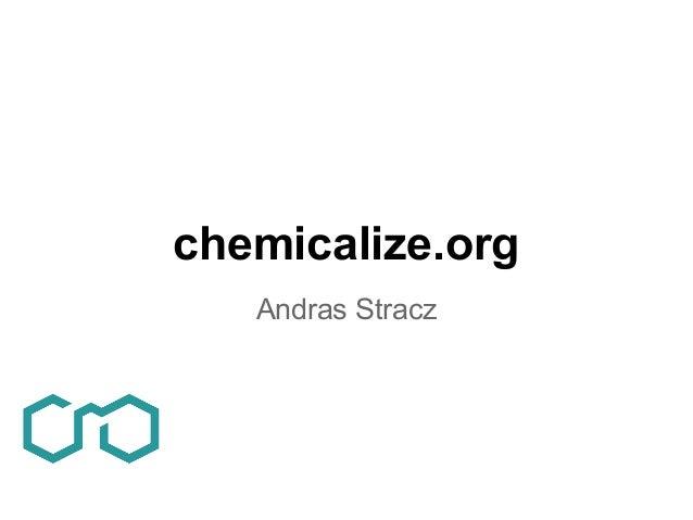 chemicalize.orgAndras Stracz