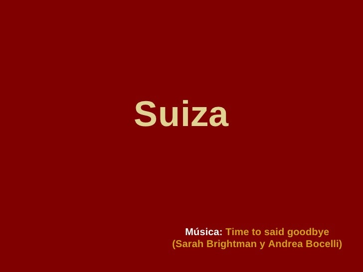 Andrea Bocelli Zwitserland