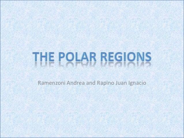 Andrea   juan ignacio -polar regions EDLC 3rd. year