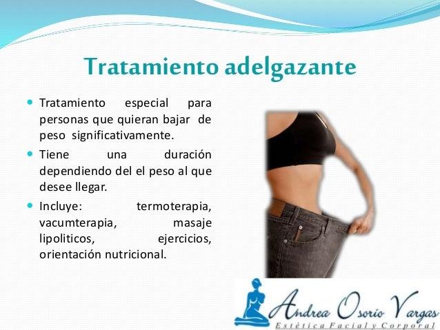 Tratamientos corporales Andrea Osorio Vargas estética