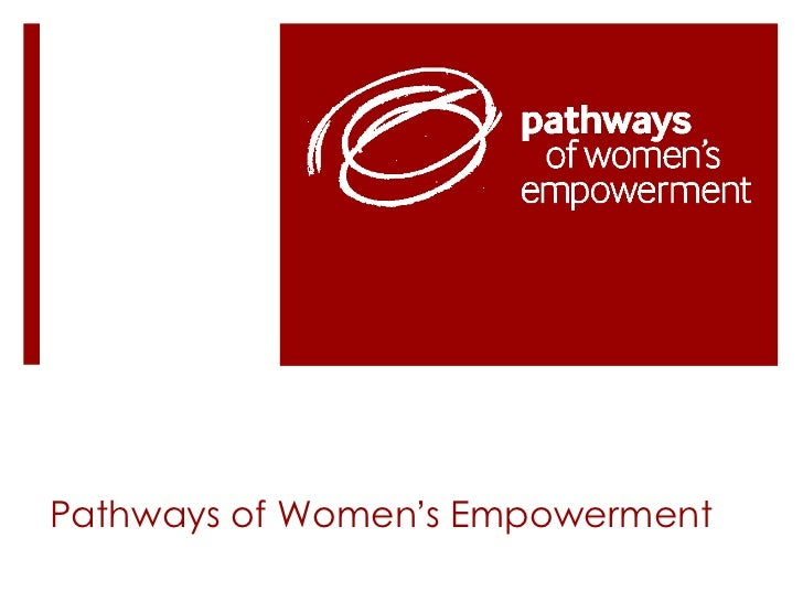 Pathways of Women ' s Empowerment