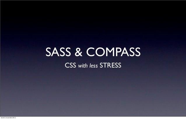 Scrivere CSS agile con Compass/SASS + debug facile