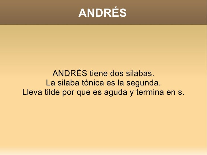 Andres 3