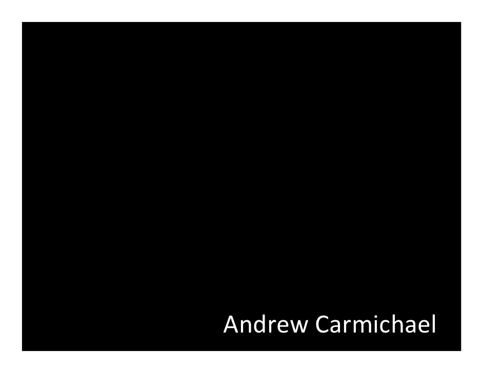 Andrew Carmichael B2 Camp Pres