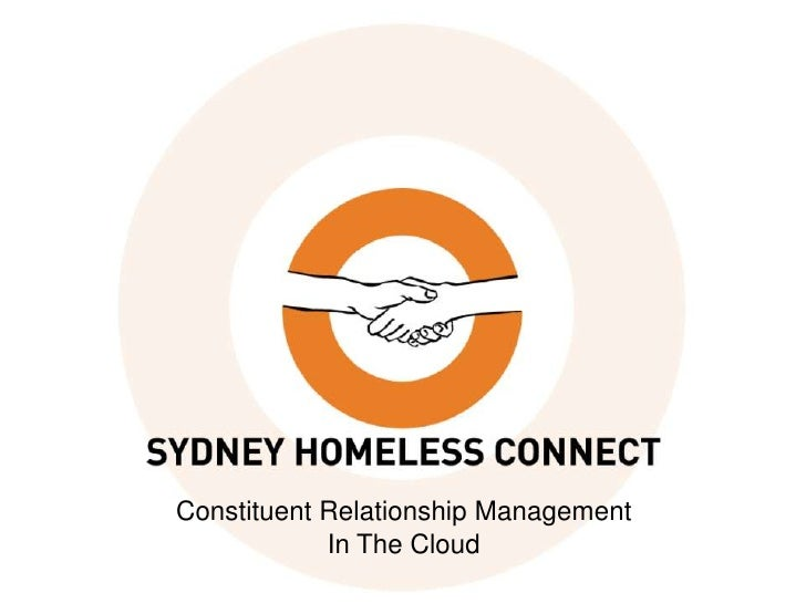 #CU12: Constituent relationship management in the cloud: The Sydney Homeless Connect experience - Andrew Everingham at Connecting up 2012