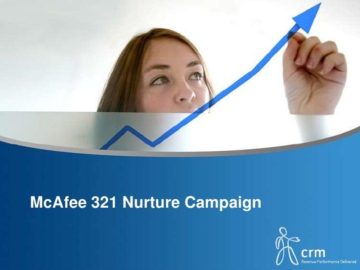 McAfee 321 Nurture Campaign