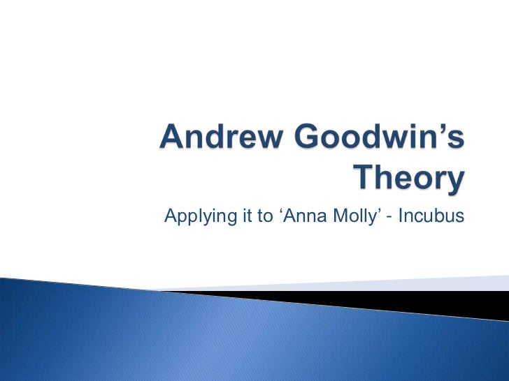 Andrew Goodwin's Theory - Incubus