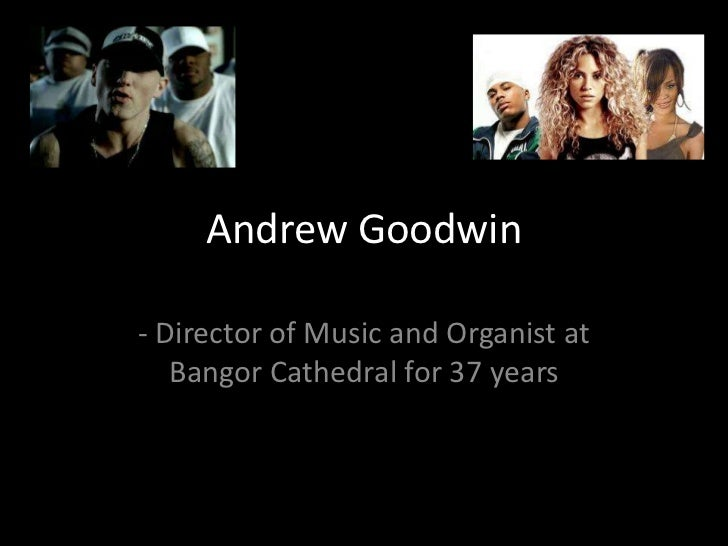 Andrew Goodwin<br />- Director of Music and Organist at Bangor Cathedral for 37 years<br />
