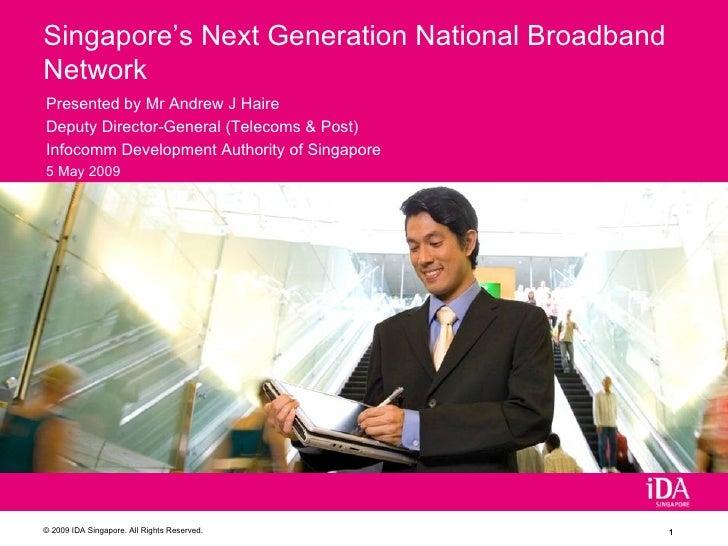 Singapore's Next Generation Broadband Network