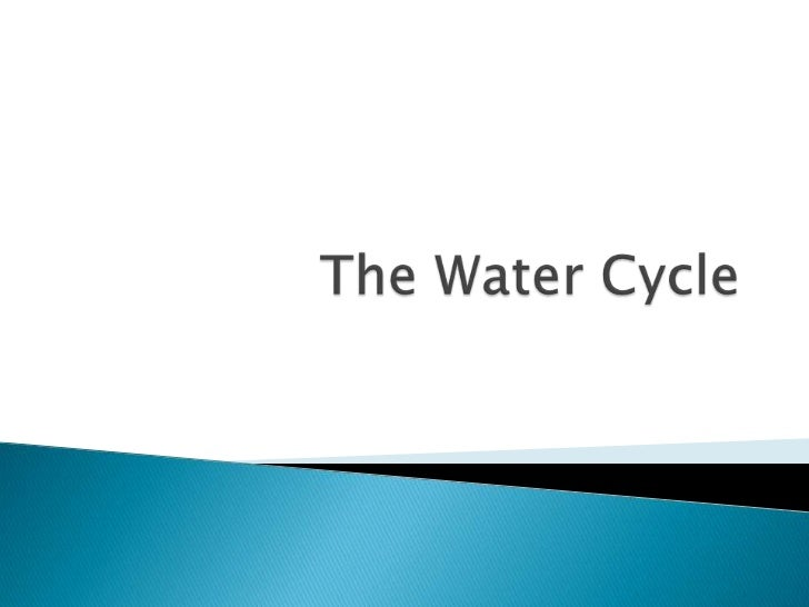 Andrew howell thewatercycle