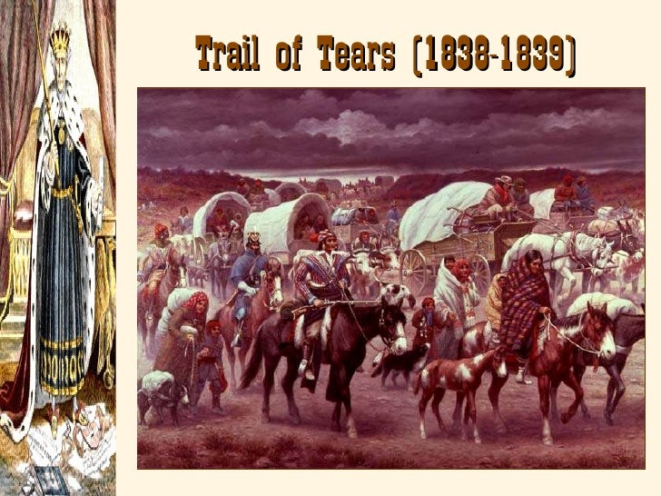 Andrew jackson trail of tears essay