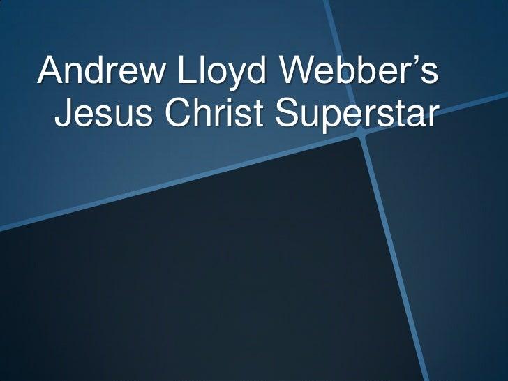 Andrew lloyd webber presentation neasc