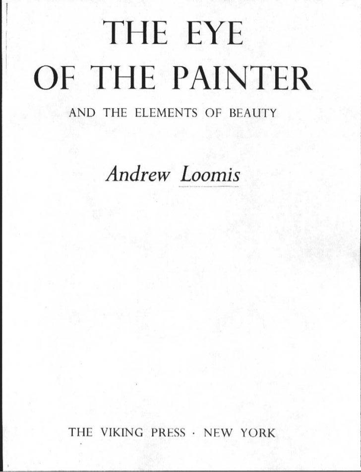 Andrew loomis theeyeofthepainter