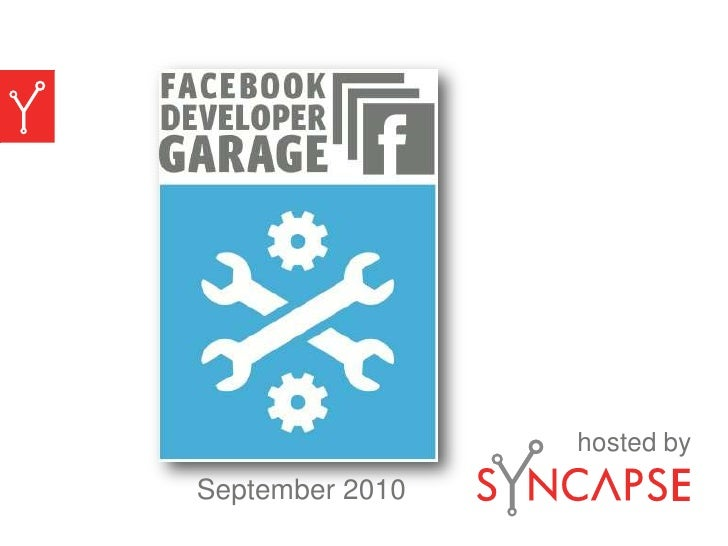 Syncapse Presentation at Facebook Developer Garage NYC