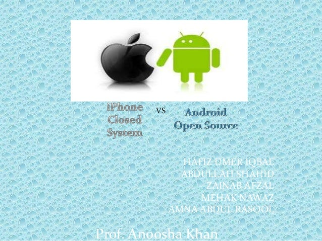 Andriod vs iphone