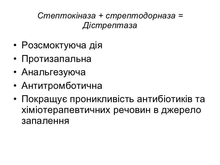 Стрептодорназа