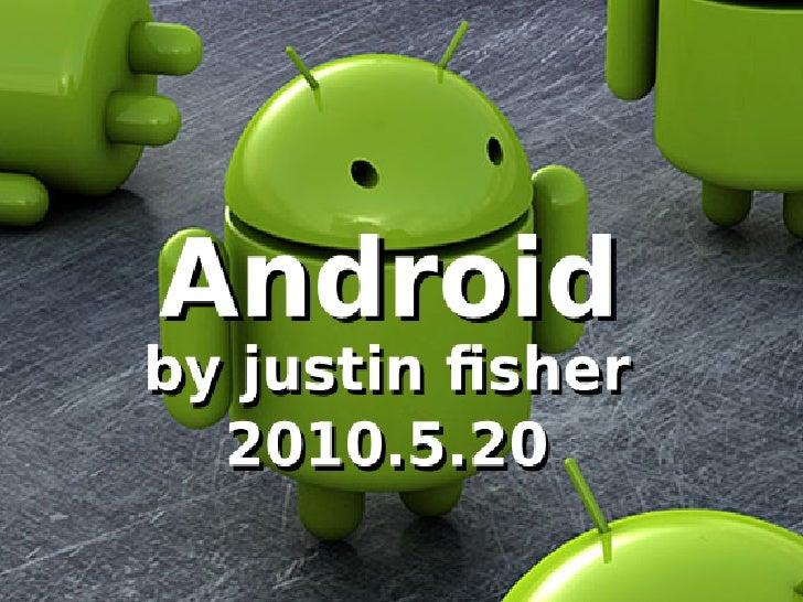 NEWLUG May 2010 Presentation - Android