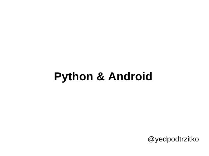 Py on Android