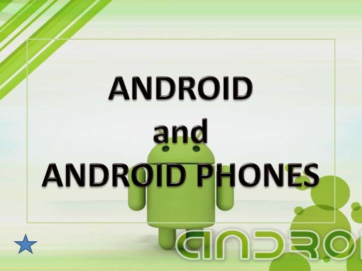 What is ANDROID? It is a Linux-based operating system for mobile   devices such as smart phones and tabletcomputers, devel...