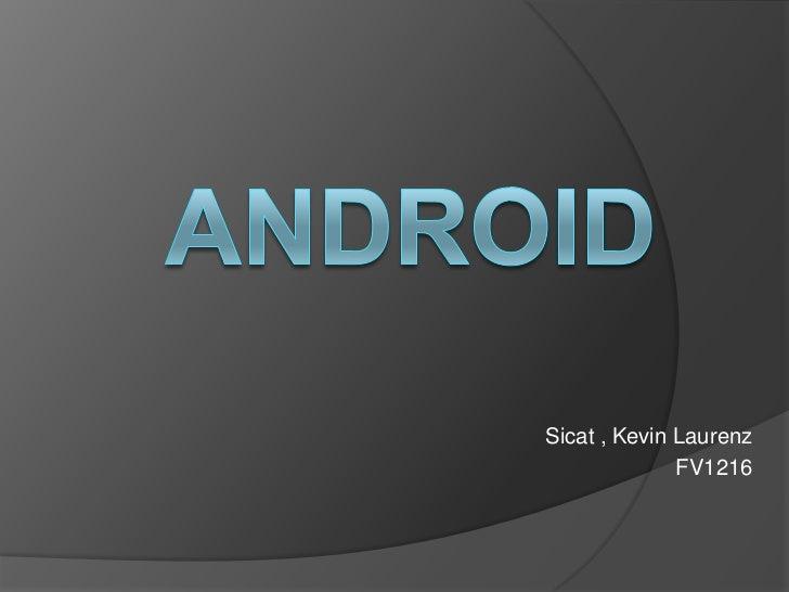 Sicat , Kevin Laurenz              FV1216