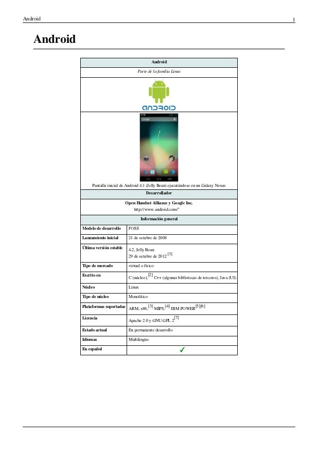 Android                                                                                                       1    Android...