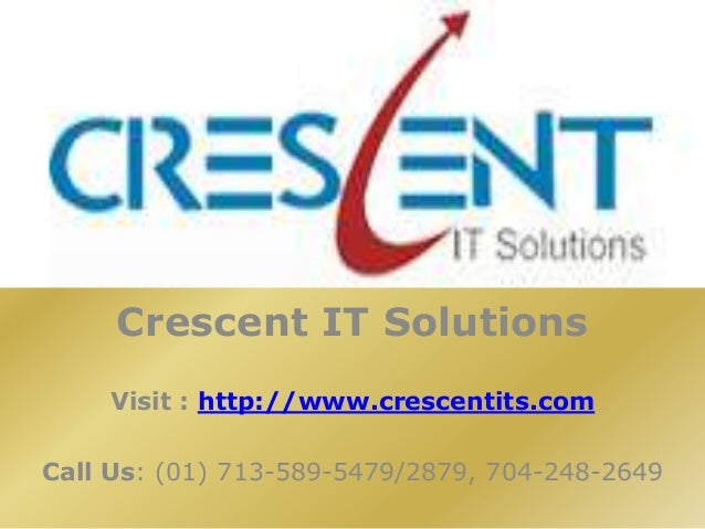 Android Online Training and Placement @ Crescent IT Solutions