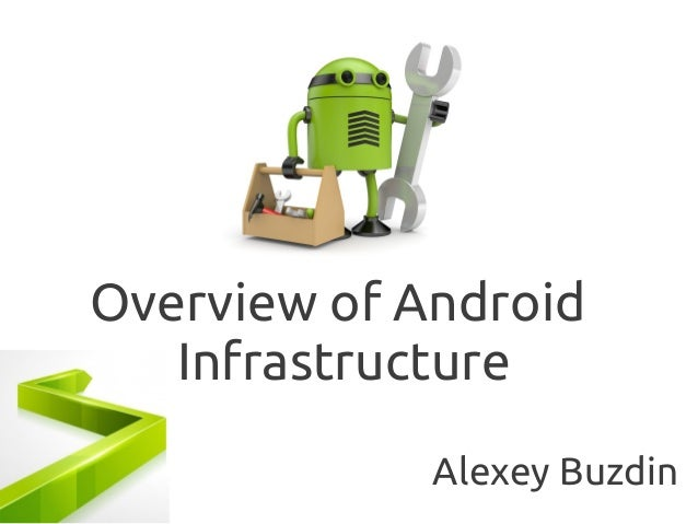 Overview of Android Infrastructure