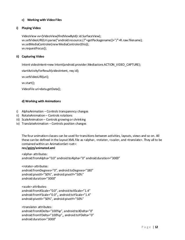 Android filename to uri