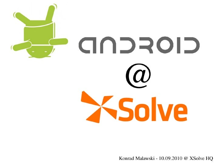 Android at-xsolve