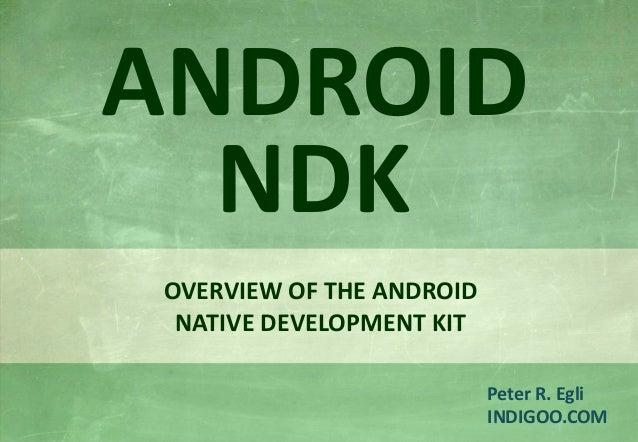Android Native Development Kit