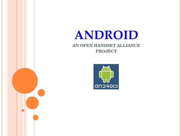 Android seminar-presentation