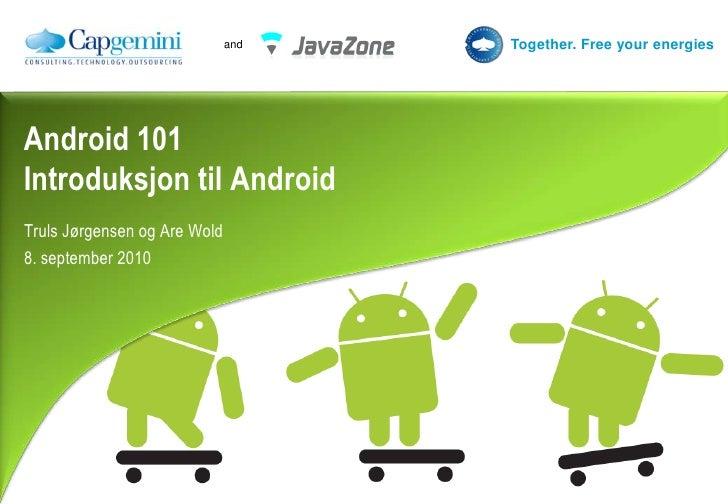 Android101 : Introduksjon til Android