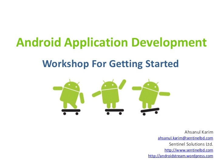 Android before getting started