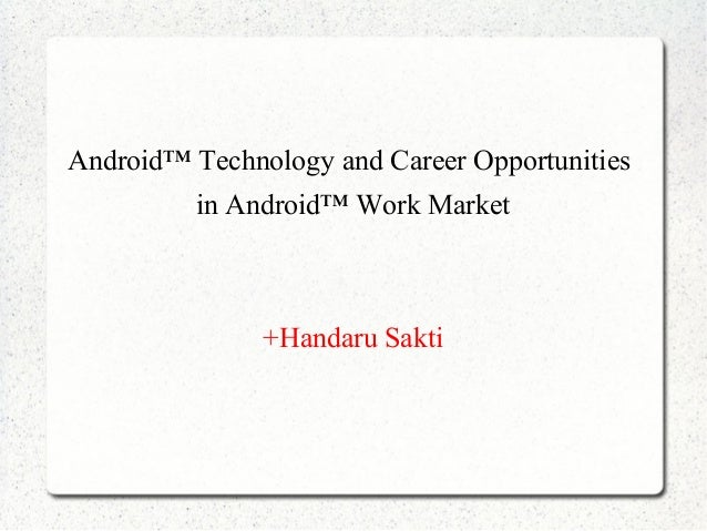 Android career opportunities