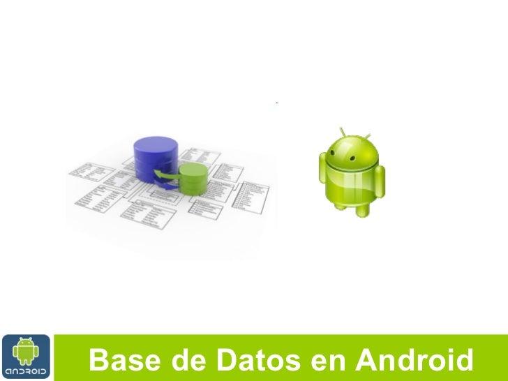 Android DB por Cesar Cespedes