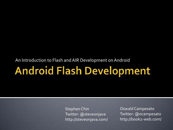 Android Flash Development