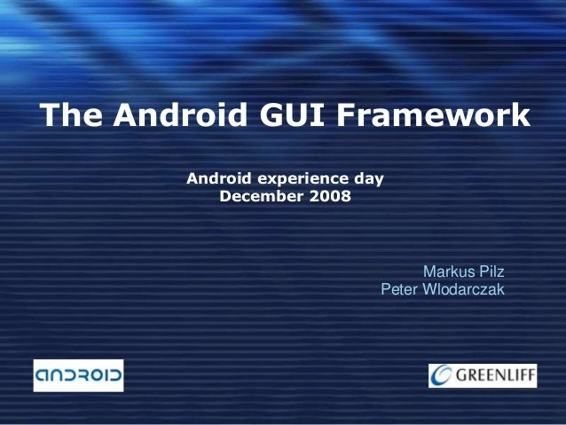 Android gui framework
