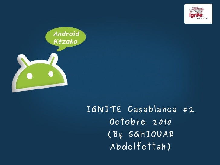 IGNITE Casablanca #2 Octobre 2010 (By SGHIOUAR Abdelfettah)