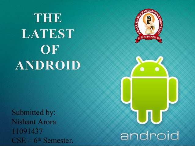 Android and Ice-cream Sandwich