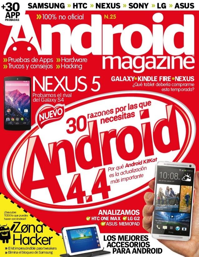 ¿Qué tablet debería comprarme esta temporada?NEXUS5 GALAXY KINDLE FIRE NEXUS ANALIZAMOS ASUS MEMOPAD HTC ONE MAX Probamos ...