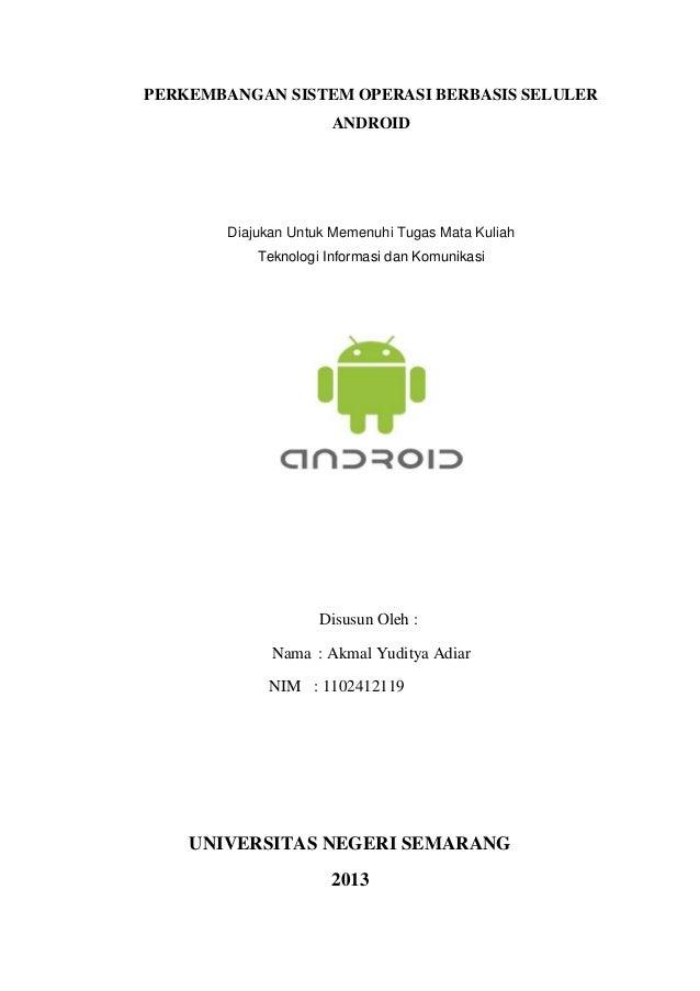 Android [makalah ku]