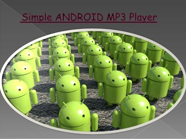 Android mp3 player