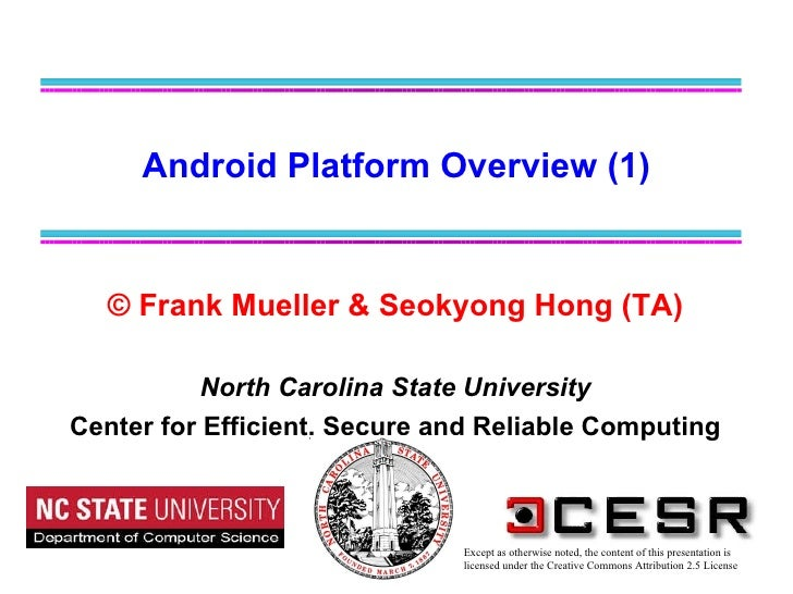Android platform overview