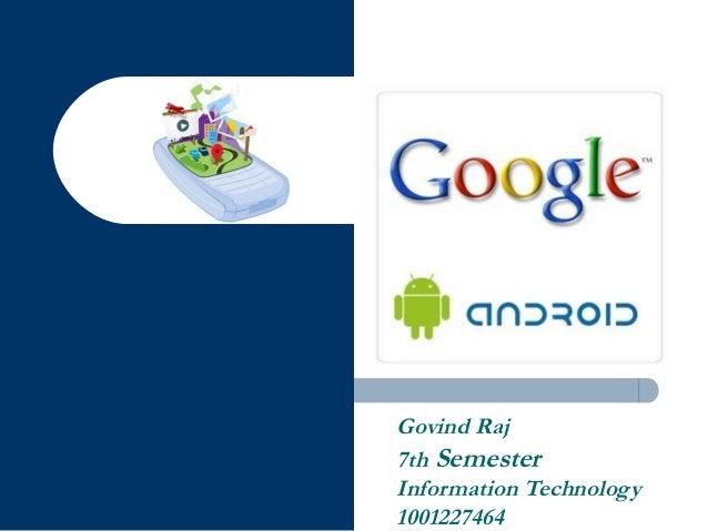 Govind Raj 7th Semester Information Technology 1001227464