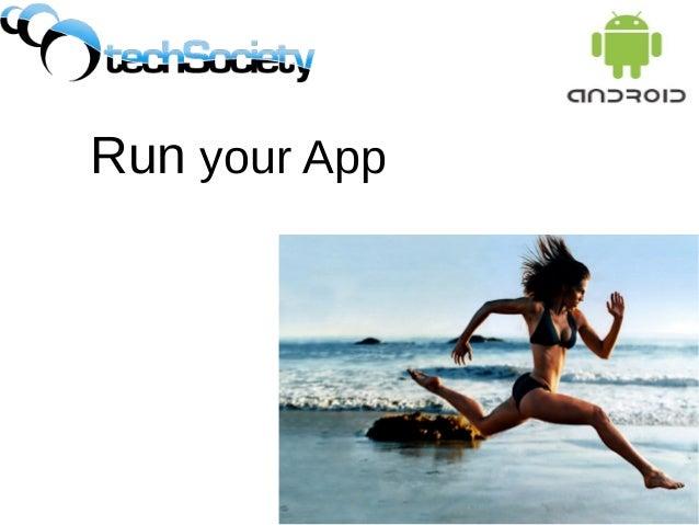 Run your App