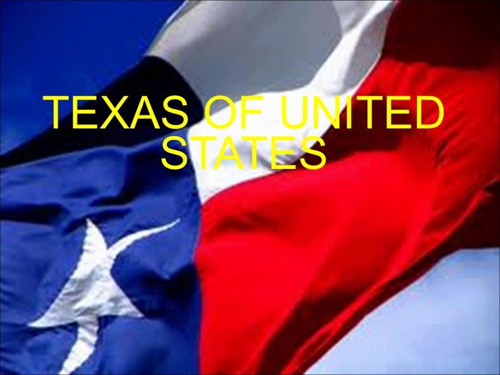 TEXAS OF UNITED STATES