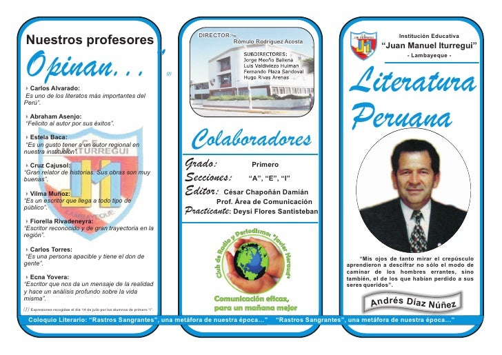 DIRECTOR:                                                      Institución Educativa  Nuestros profesores                 ...