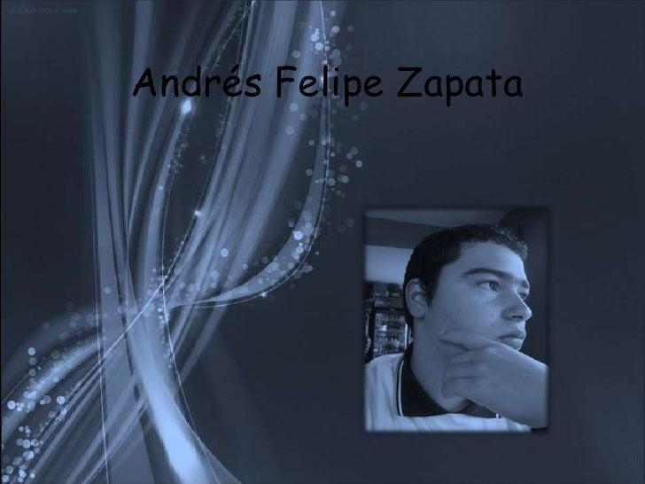 Andrés Felipe Zapata<br />