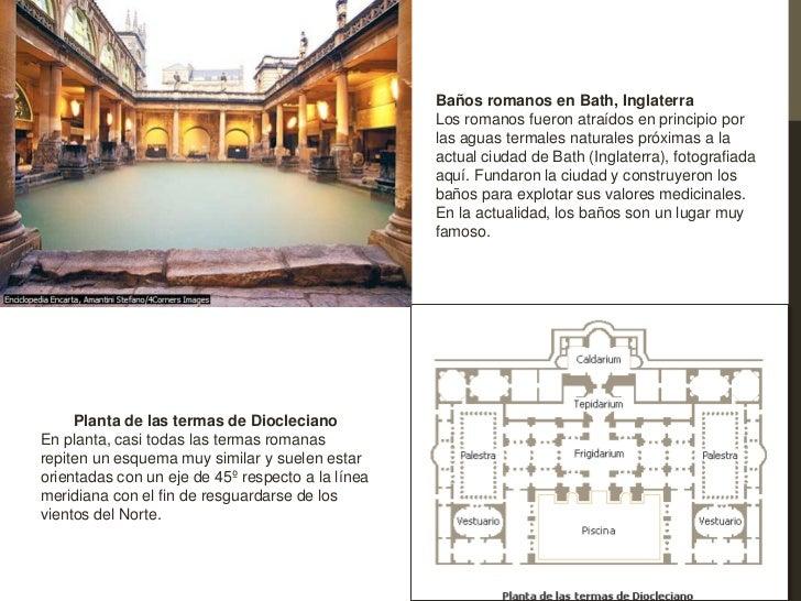 Baños Romanos Merida:baños romanos en bath inglaterra los romanos fueron atraídos en