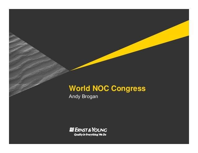 World NOC Congress Andy Brogan